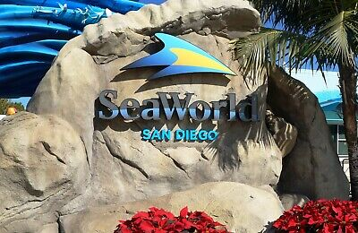 SeaWorld San Diego e-ticket safe&quick email delivery any day pass
