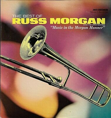 THE BEST OF RUSS MORGAN MCA2-4036 Vinyl 2-LPs 33 Easy Listening Pop Album VG+