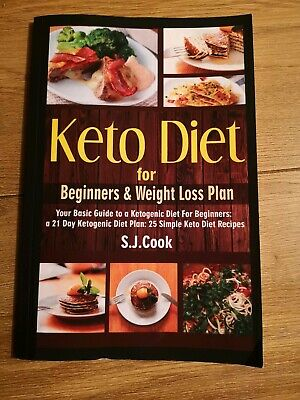 Keto Diet For Beginners By S. J. Cook