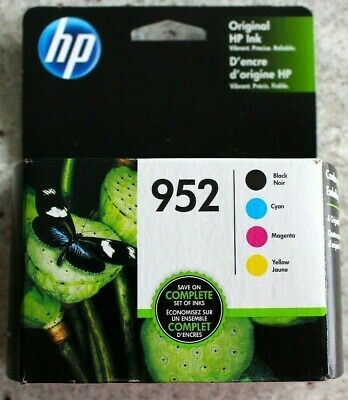 Brand New HP 952 Black/Color Genuine Ink Combo Pack - Expires 2021