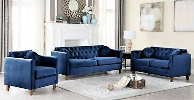 Incredible Transitional Charcoal Velvet 2Piece Sofa Set Sofa Loveseat Camellatalisay Diy Chair Ideas Camellatalisaycom