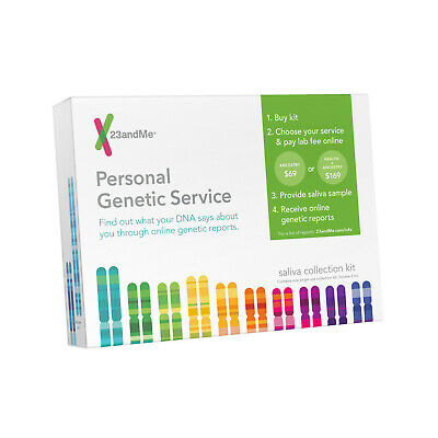 🔥23andMe Personal Ancestry Service DNA Saliva Collection Kit (EXP:10/25/2019)