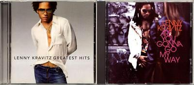 Lenny Kravitz (2 CD's) Greatest Hits / Are You Gonna Go My Way