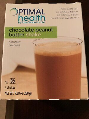 Medifast Optimal Health Chocolate Peanut Butter Shake - 7 Shakes Exp 09/24/2020