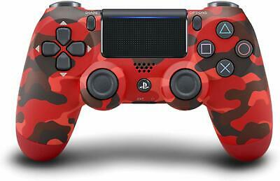 Official Sony PS4 DualShock Controller RED CAMOUFLAGE Limited Edition USA SELLER