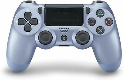 OEM Official Sony PS4 DualShock Controller- Titanium Blue (Limited Edition)