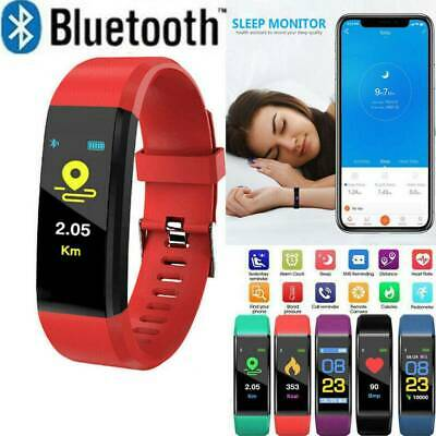 Fitness Smart Watch Activity Tracker Adult Kids Fitbit Android iOS Heart Rate &