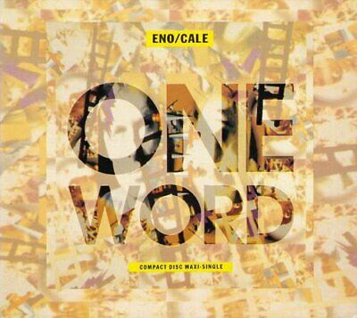 Cale,J - One Word - Cale,J CD Z1VG The Cheap Fast Free Post The Cheap Fast Free