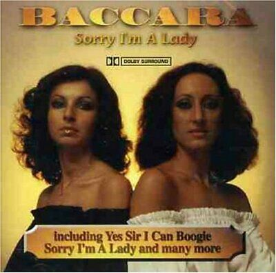 Baccara - Sorry I'm a Lady - Baccara CD 98VG The Cheap Fast Free Post The Cheap
