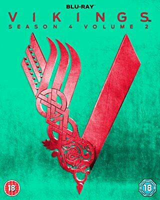Vikings: Season 4 - Volume 2 [Blu-ray] - DVD  4XVG The Cheap Fast Free Post