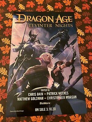 DRAGON AGE Tevinter Nights 2019 NYCC Comic Con EXCLUSIVE PROMO POSTER Art NEW