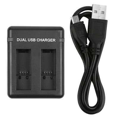 Cable Battery Charger LED Socket Fast Charging 4.4V/800mA For GoPro Hero 5 6 7