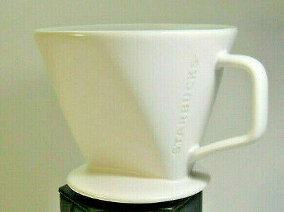 Quality, Made in Japan, Size 4 (#4) STARBUCKS Ceramic Coffee Pour-Over/Dripper!