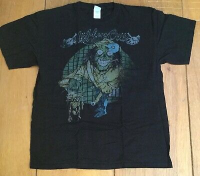 Motley Crue Pushead Dr Feelgood 2007 Large t-shirt