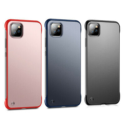 Phone Protective Case Matte Cover Frameless Fit For iPhone 11 Pro Max Shockproof