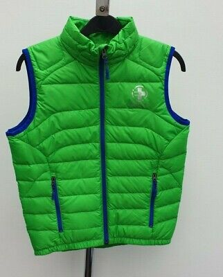 £115 Boys Ralph Lauren RLX Real Down Feather Puffer Jacket Gilet Size S 6-7 Year