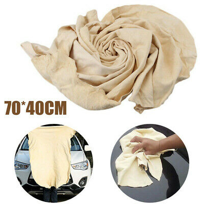 Car Cleaning Washing Drying Extra Large Towel Natural Chamois Leather Cloth
