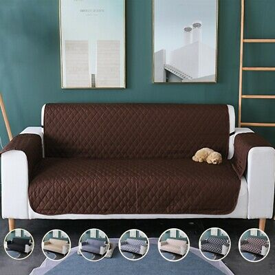 Artiss Sofa Cover 1/2/3 Seater Couch Covers Slipcovers Quilted Lounge Protector