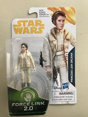 Princess Leia (Hoth) Star Wars figure Force Link 2.0 - New and unopened