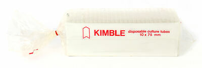 Kimble Disposable Culture Tubes USED Laboratory Scientific Equipment