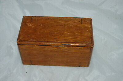 Antique 1889 Singer Sewing Machine Puzzle Box w Attachments Nice!