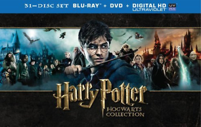 RADCLIFFE,DANIEL-Harry Potter: Hogwarts Collection Blu-Ray NEW