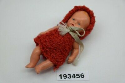 alte Puppe Baby Germany 156 Masse 9 cm Puppenstube#193456