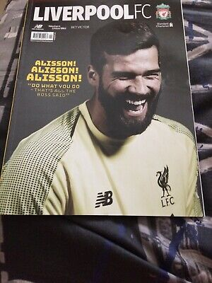 Liverpool Fc Magazine april 2019, lfc mag Official Club Magazine