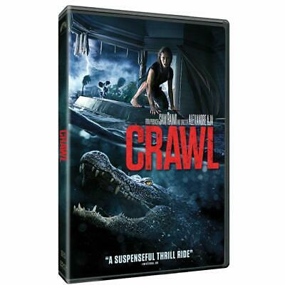 Crawl (Dvd, 2019) - Brand New Factory Sealed! Free Shipping!