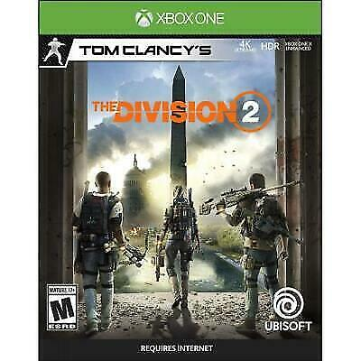 Tom Clancy's The Division 2 (Xbox One) Brand NEW !!