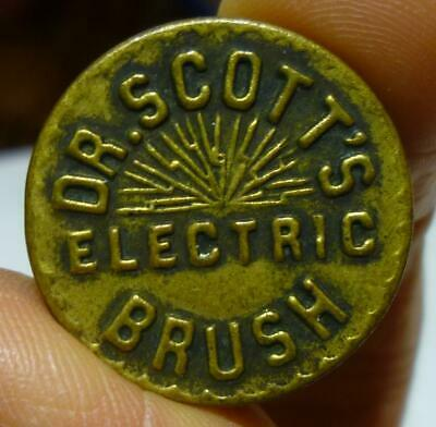 Vintage Advertising Compass for Dr. Scott's Electric Brush.