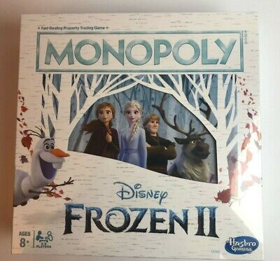 Disney's Frozen II 2 Monopoly Board Game By Hasbro 2019 Sealed New Great Gift