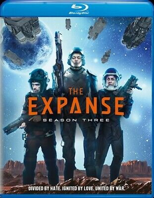THE EXPANSE TV SERIES COMPLETE SEASON THREE 3 New Sealed Blu-ray