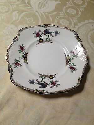 vintage plate, melba bone china, made in England.