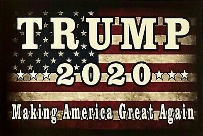 2020 Donald Trump Man Cave SIGN 4x6 magnet Fridge Toolbox Making America