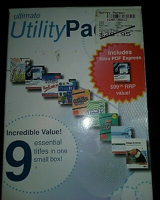 Computer software utility's pack includes 9 programes in one box