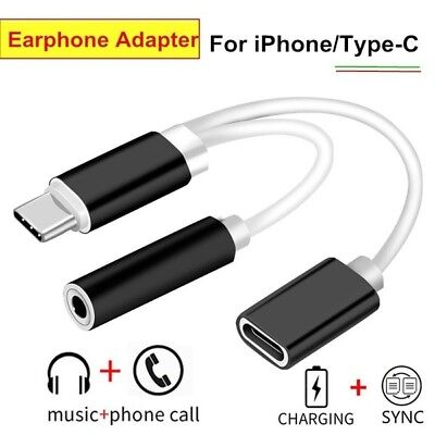 Type C USB 3.1 To 3.5 Audio Charging Cables Cack Earphone Audio Adapter CY2