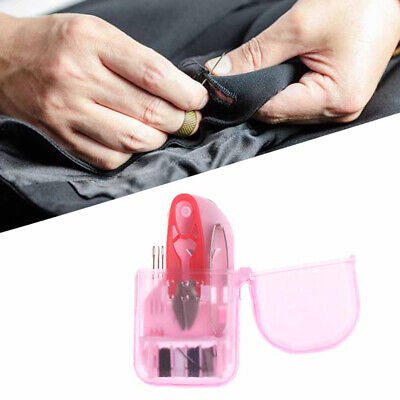 Home Travel Portable Mini Portable Sewing Kit Sewing Box Sewing Tool Box Needle