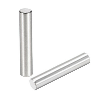 25Pcs 6mm X 35mm Dowel Pin 304 Stainless Steel Cylindrical Shelf Support Pin