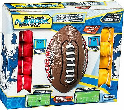 Franklin Sports Flag Football Flags and Ball Set Youth Kids