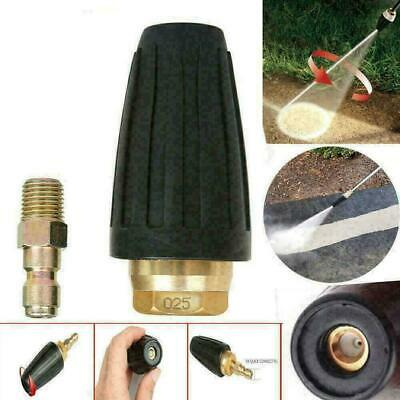 High Pressure Washer Turbo Head Nozzle  Washer Cleaner Spray Rotating Rotary