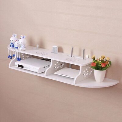DVD Book Display Storage Board Floating Shelves Wall Mounted Shelf For TV Box CR
