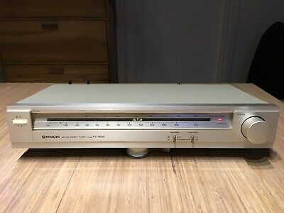 Vintage Hitachi FT-3500 Stereo Tuner Receiver made in Japan Good Condition