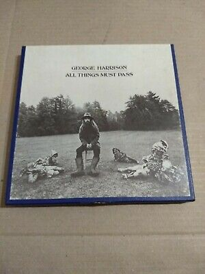 George Harrison All Things Must Pass Reel to Reel 4 Track Tape 3 3/4 IPS