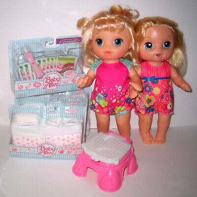 Baby Alive Dolls Potty Dance Diapers Food