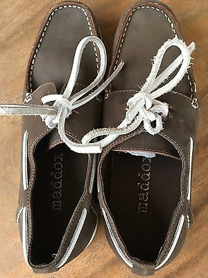 Maddox - Men's/Boy's - Suede - Boat Shoes - Brown - Size 7