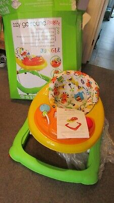NWOT Red Kite Baby Go Round Twist Walker Activity for Toddlers JUNGLE