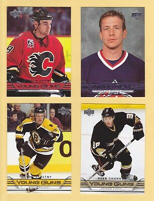 """2006-07 Upper Deck Young Guns """"Rookie Cards"""" - U-Pick To Complete Your Set"""