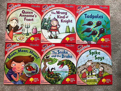 Oxford Reading Tree Level 3 Songbirds Phonics 6 Books Julia Donaldson