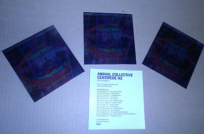 ANIMAL COLLECTIVE Centipede Hz 3 PROMO STICKERS for 2012 cd AVEY TARE Decals